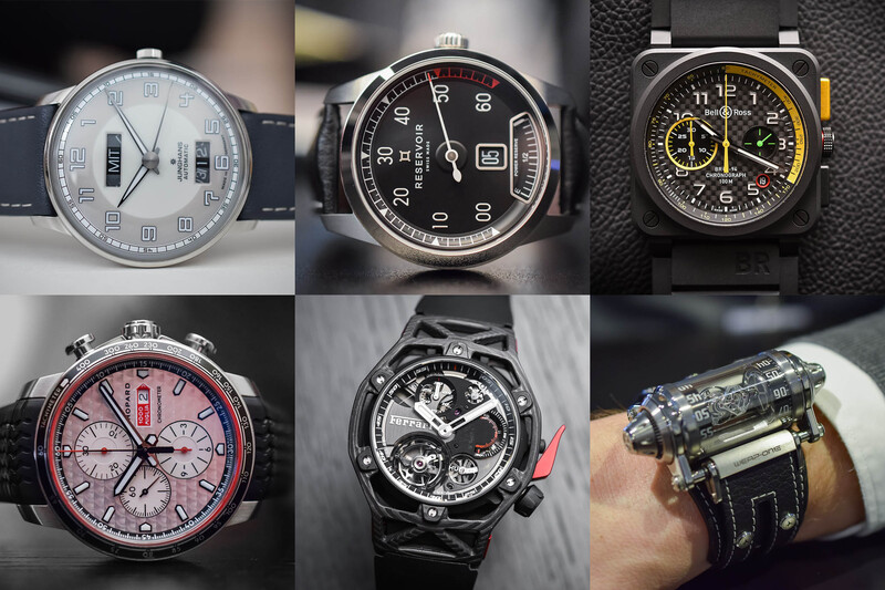 6 Car-Inspired Watches From Baselworld 2017