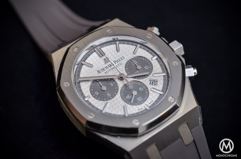 Hands-on with the Audemars Piguet Royal Oak Chronograph QEII Cup 2015 Limited Edition (live pics, specs & price)