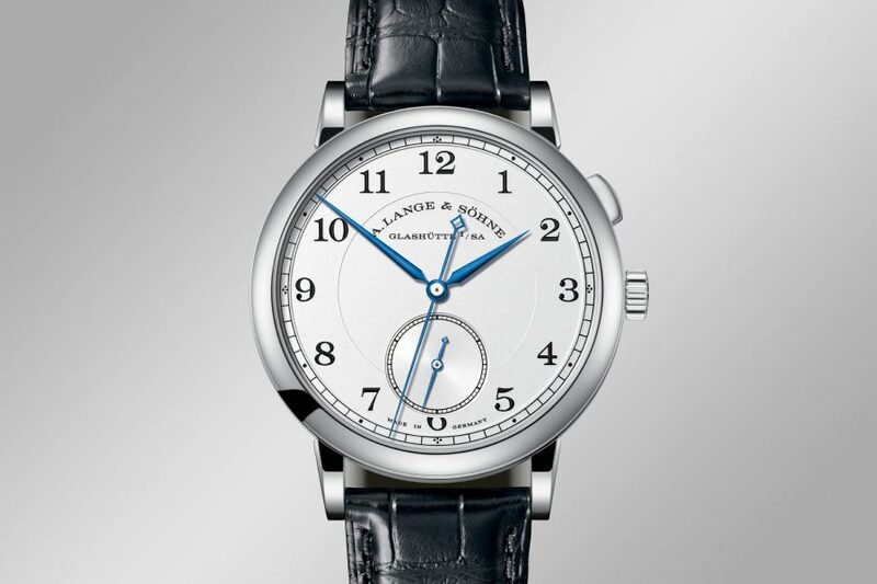 """Introducing – A. Lange & Söhne 1815 """"Homage to Walter Lange"""" with Stoppable Jumping Second Limited Editions in 3 Colours of Gold and a Stainless Steel Unique Piece"""
