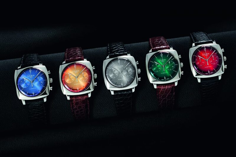 Introducing The Colorful Sixties Iconic Square Collection By Glashütte Original (With 1960s Dial Colors)