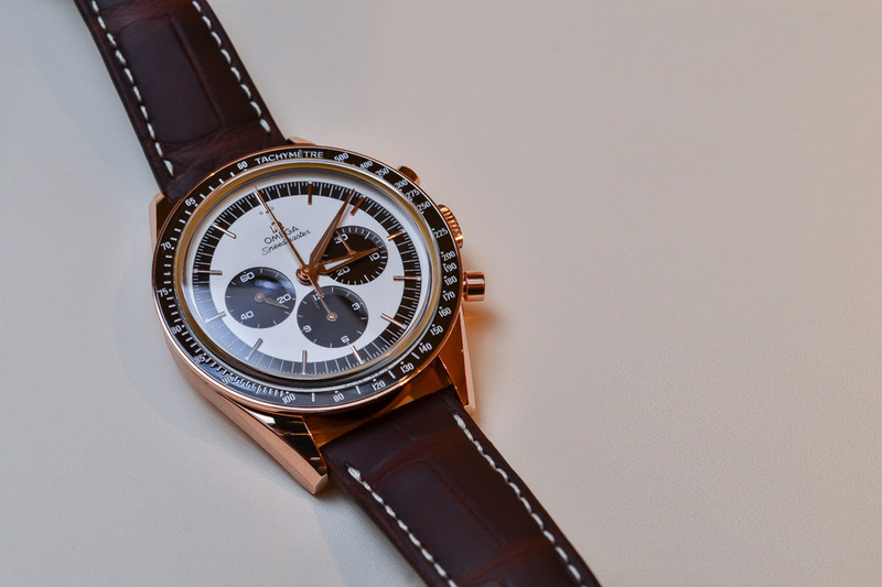 Introducing the Omega Speedmaster FOIS 'First Omega in Space' now in Sedna Gold (live pics & price)