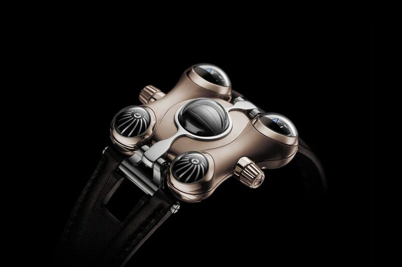 MB&F HM6 RT Space Pirate, now In Red Gold (specs & price)