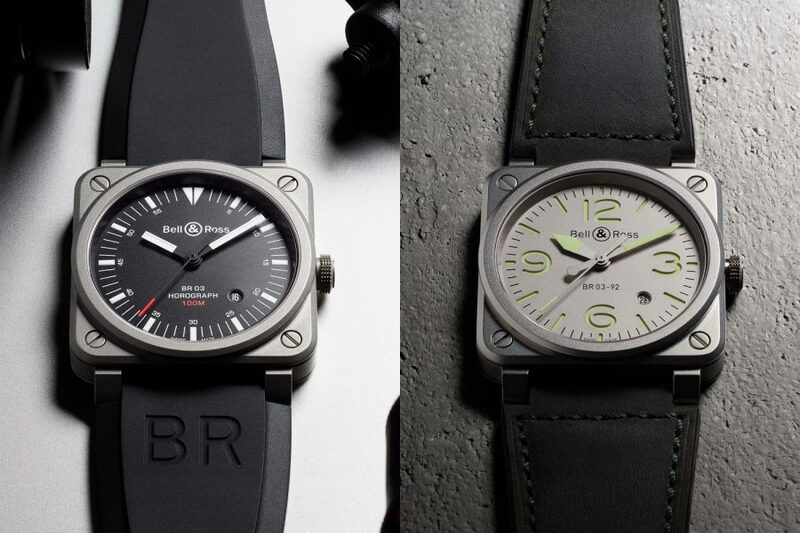 Pre-BaselWorld 2017 – Bell & Ross BR03-92 Horograph and BR03-92 Horolum