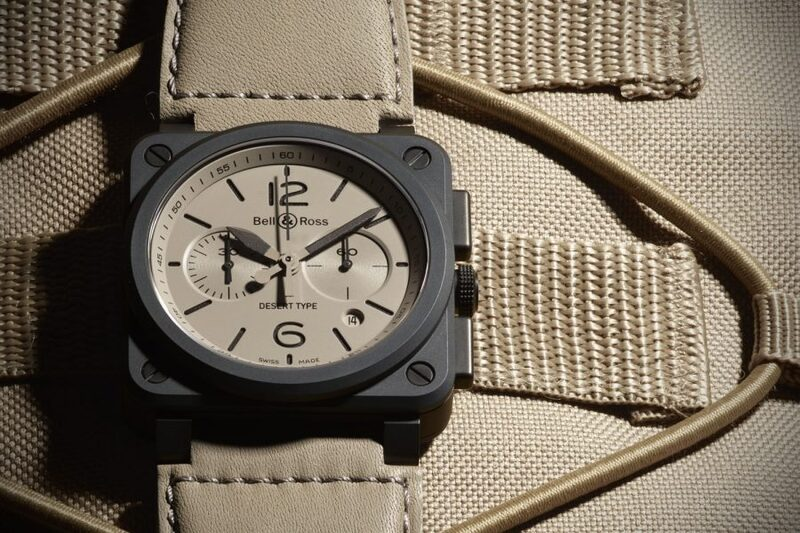 Pre-Baselworld 2016 – Bell & Ross BR 03-92 and BR 03-94 Chronograph Desert Type – new ceramic military inspired watches (specs & price)