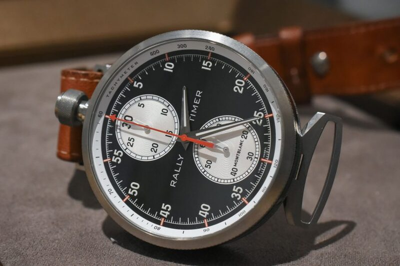 Pre-SIHH 2018 – Hands-On with the Montblanc TimeWalker Rally Timer Chronograph Now With Reverse-Panda Dial