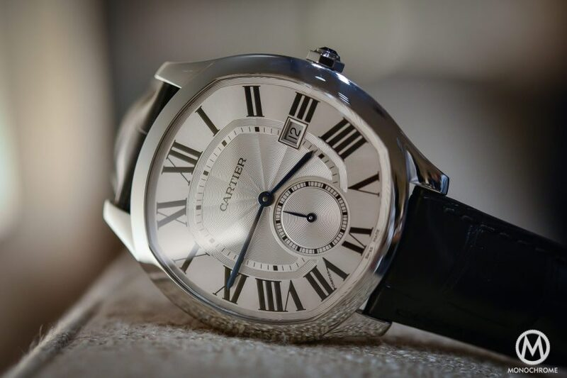 SIHH 2016 – Introducing the Drive de Cartier, a new men's shaped watch (hands-on review, live photos, price)