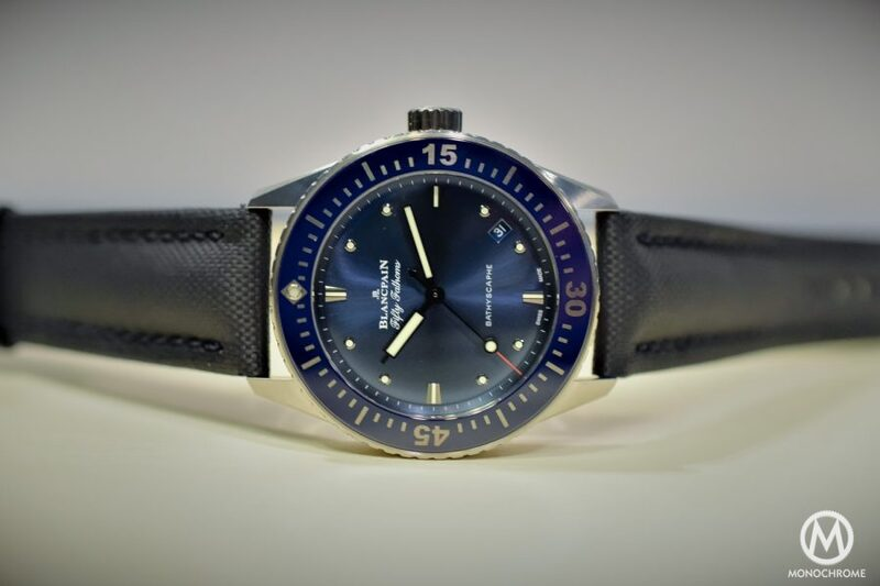 The Blancpain Bathyscaphe Now In 38mm – A Smaller Version Presented in the Frame of The Blancpain Ocean Commitment (BOC) Inauguration in Zurich